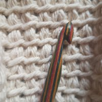 The nostalgia of knitting and Tunisian Crochet